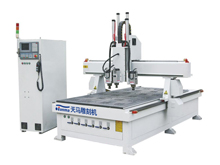 Three-step Side milling woodworking CNC Router